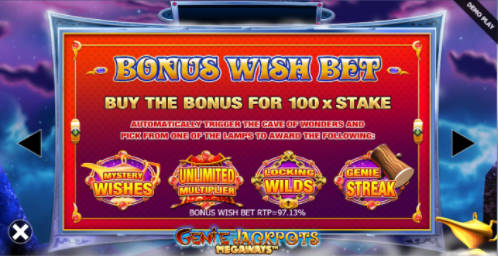 bonus wish bet
